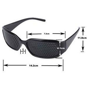 Exercise Eye Care Pinhole Pin Hole Vision Improve Anti-fatigue Eyewear Eyesight