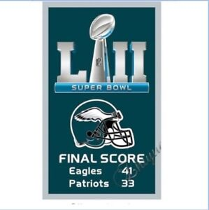 284cf67cd4b Image is loading Philadelphia-Eagles-Flag-SUPER-BOWL-52-LII-Champions-