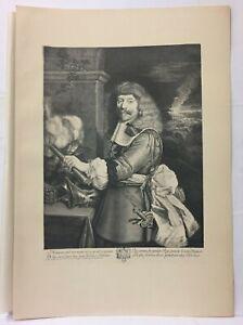 Engraving-Portrait-D-039-Henri-of-Lorraine-Tale-D-039-Harcourt