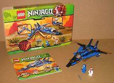9442 LEGO Ninjago Jay's Storm Fighter 100% CMPLT box & Instructions EX COND 2012