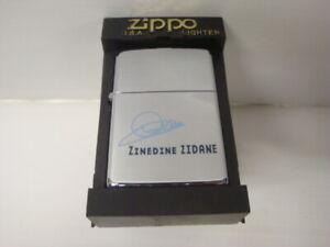 Accendino-Zippo-Calcio-Coppa-Del-Monde-Zinedine-Zidane-Nuovo-New-Rif-623