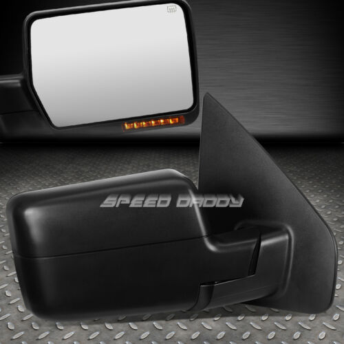 FOR 04-14 F150 POWER+HEATED+LED SIGNAL LIGHT REAR VIEW TOWING TOW MIRROR RIGHT