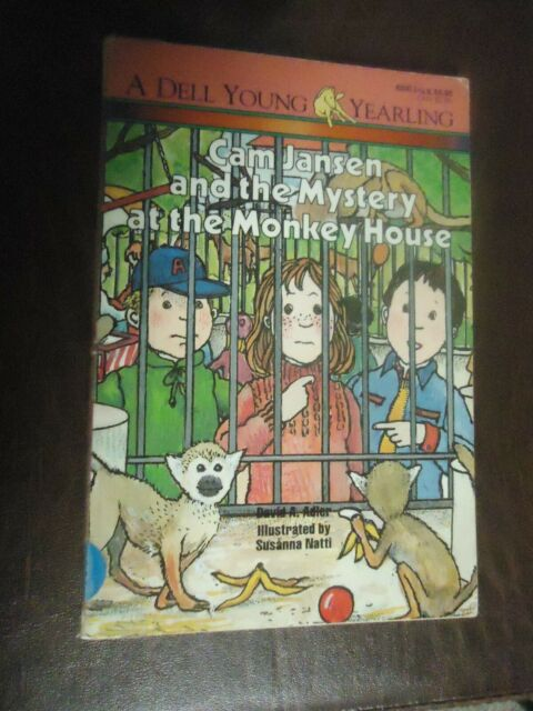 Cam Jansen and the Mystery at the Monkey House  (ExLib) by David A. Adler