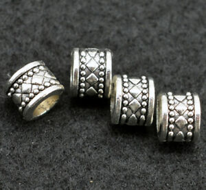 Wholesale-Quality-Antique-Silver-Knots-Viking-Charms-BEADS-for-Beard-Hair-Beads