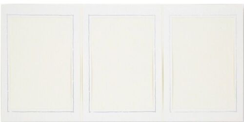 20 Stück weiße Portraitmappen Leporello Bildformat 13x18 cm Silberrand Fotomappe