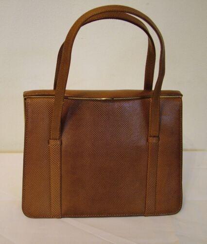 Bag 60s Leather Handbag Vintage Brown Kelly Marquessa wRZdwXqg