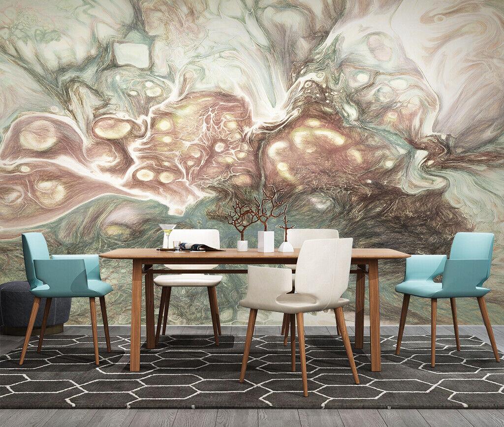 3d Kunst Abstract M051 Tapete Wandbild Selbstklebend