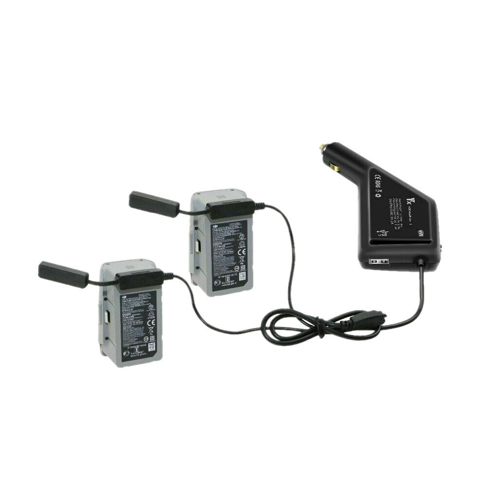 3 in 1 Mavic Car Charger Dual Battery & Controller for DJI Air 2S/DJI Mavic Air2