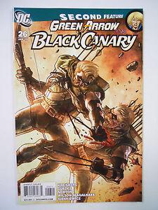 DC Comics Green Arrow-Black Canary #26 (2010)