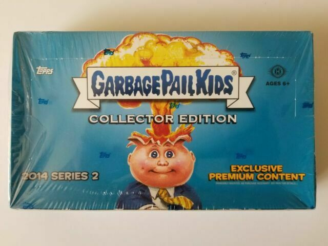 2014 Garbage Pail Kids Series 2 Collector S Edition Hobby Box 24 Packs Box For Sale Online Ebay