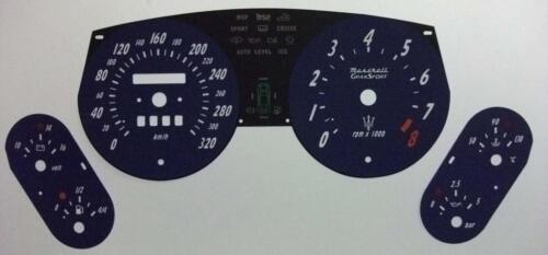 Lockwood Maserati Gransport KMH BLUE Dial Conversion Kit C570