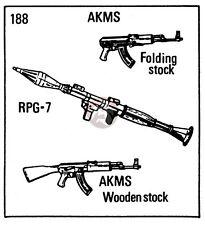 Verlinden 1/35 Soviet Small Arms (AKM, AKMS (Folding Stock), RPG-7 & Bipod) 188