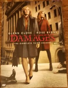 Damages: The Complete Third Season 3 (DVD, 2011, 3-Disc Set) FREE SHIPPING!