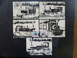Jersey 1985 Trains Maximum Cards