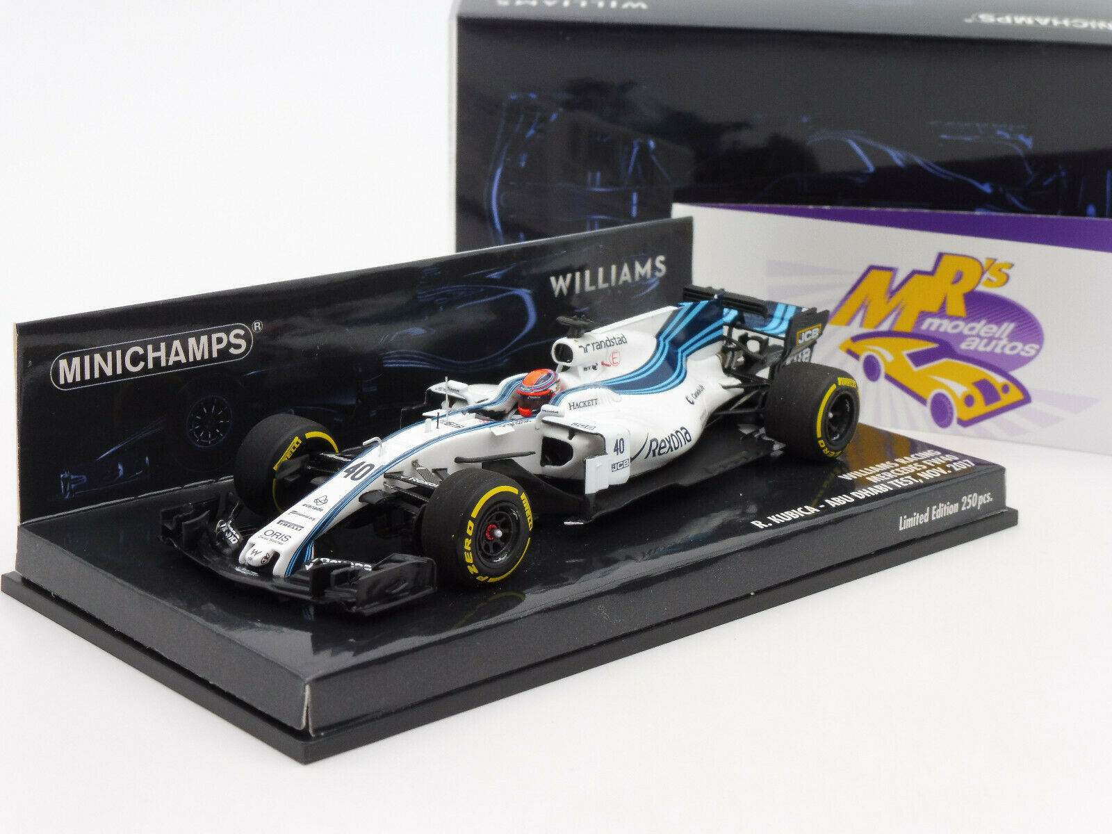 suministro de productos de calidad Minichamps 417172040     Williams Racing mercedes fw40  kubica-Abu Dhabi  1 43  orden en línea