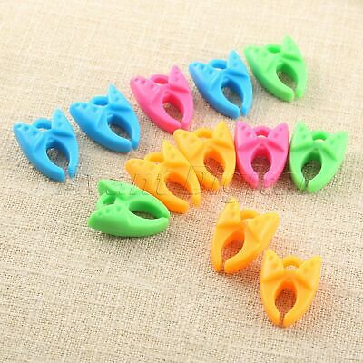 12 //50 Pcs Bobbin Clip Spools Thread Roller Wrapped Clamp Sewing Organizer Tool