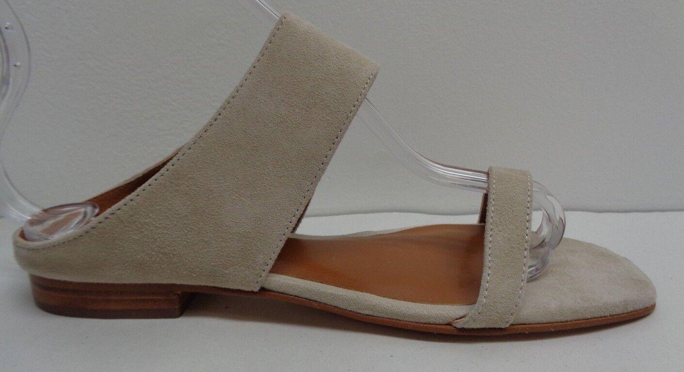 H by Halston Größe 7 M LENA Beige Suede Slide Slip On Sandales NEU Damenschuhe Schuhes
