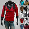 New Men's Long Sleeve Slim Fit Sexy Top Designed Hoodies Jackets Coats Outwear