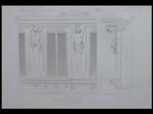 PARIS, 125 AVENUE DES CHAMPS ELYSEES - 1864 - GRANDE GRAVURE - LEVICOMTE