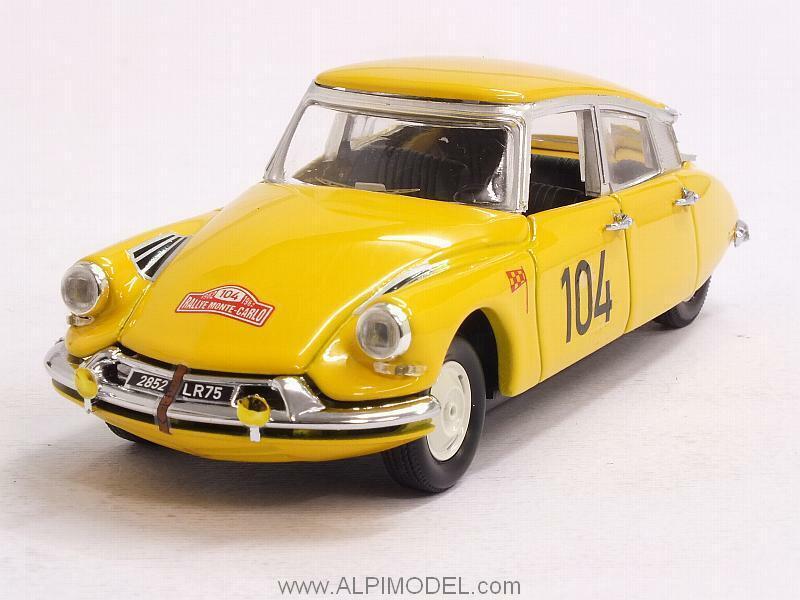 Citroen DS19 Rally Monte Cochelo 1962 Maurel - Courbe 1 43 RIO 4450