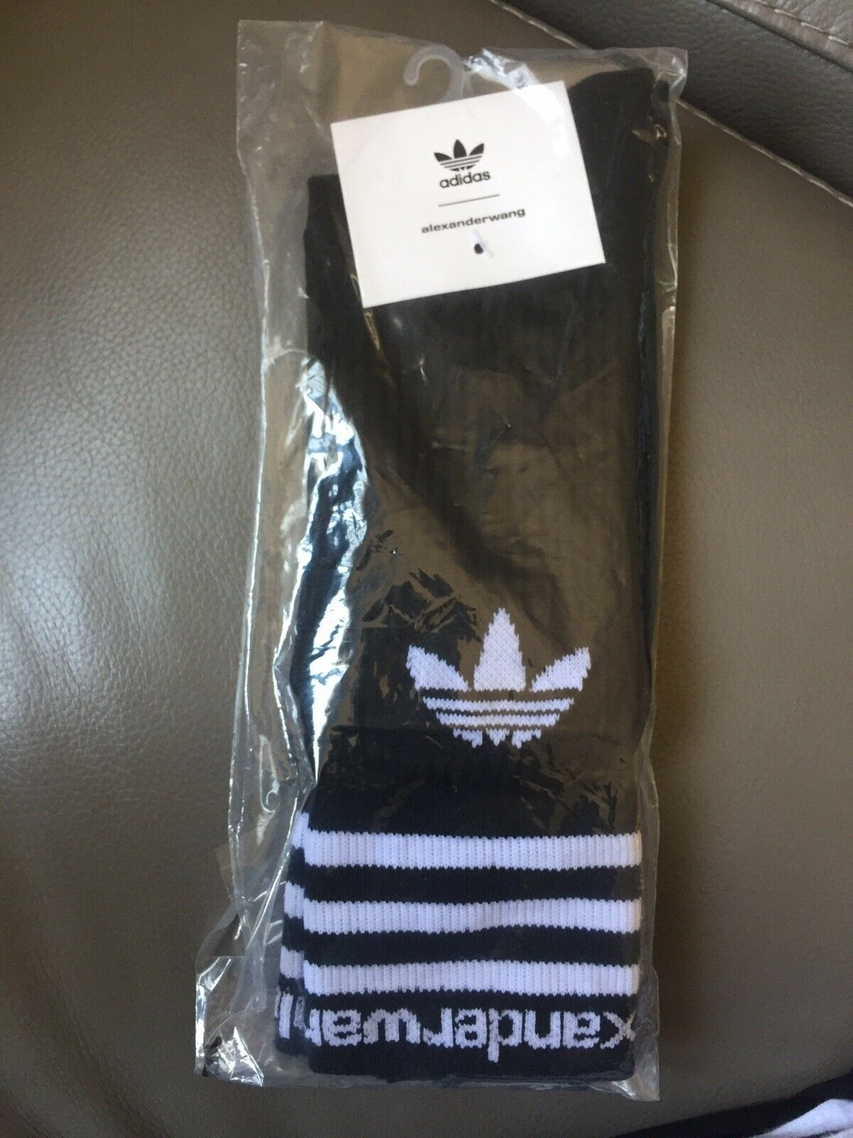 Brand New  adidas by Alexander Wang Mid Sock Size S