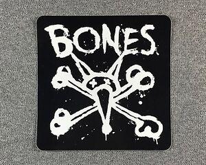 Powell-Bones-Vato-Stacked-Skateboard-sticker-4in-si-White-on-Black-square
