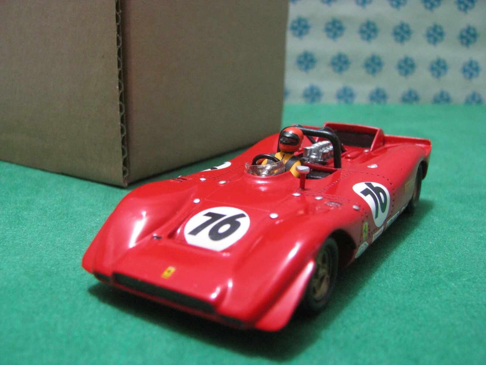 Vintage -  FERRARI  612  Can-Am  1969  -  1 43  FDS 1977  Kit  Montato n°56