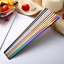 1-Pair-Colorful-Chopsticks-Metal-Stainless-Steel-Reusable-Holographic-Rainbow