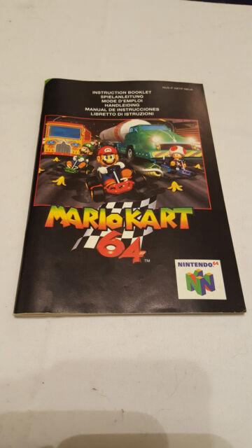 Mario Kart 64 Anleitung