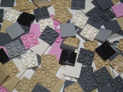 Lego ® Lot x2 Plaques Carreau Tenon inverssé 2X2 Plate invers Choose Color 11203