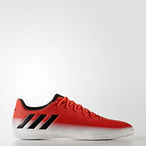 12f466585 NIB MENS Adidas Messi 16.3 IN Indoor Soccer Cleats BA9017 Red Black ...