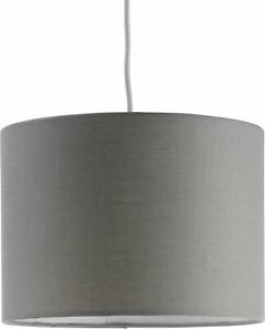 Details about Argos Home Fabric Light Shade Flint Grey
