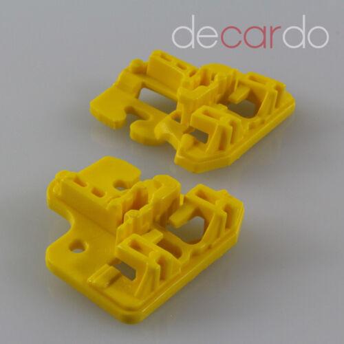 e53 Cjto de reparación elevalunas clip refrigerador Piezas de la parte delantera izquierda 99-07 Bmw x5 nuevo *