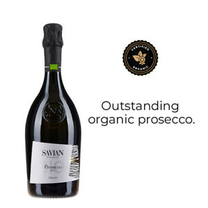 Savian Prosecco DOC Extra Dry NV Sparkling Wine pack of 12