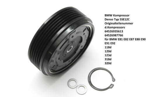 Klimakompressor Riemenscheibe Kupplung BMW 1er 3er 118d 120d 123d 318d 320d