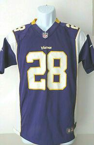 vtg-YOUTH-MINNESOTA-VIKINGS-28-ADRIAN-PETERSON-Football-NFL-Jersey-Purple-Boys