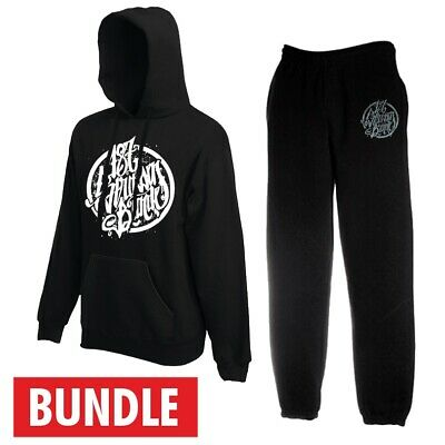 187 strassenbande Logo Bundle (Hoodie + Pantalon de training) Noir | eBay