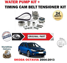 Para SKODA OCTAVIA 1.6 2.0 TDI 16V 2004-2013 kit correa dentada y conjunto de Bomba de agua