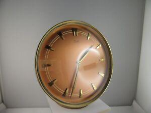 Luxor orologio da tavolo in ottone dorato con indicazione delle