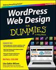 WordPress Web Design For Dummies by Lisa Sabin-Wilson (Paperback, 2013)