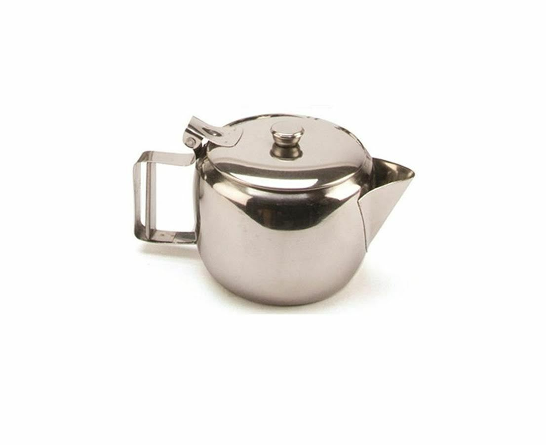 Details about English Afternoon Tea Catering Serving Teapot Herbal Coffee  Pot Flip Lid S Steel