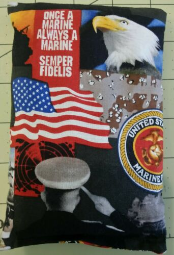Homemade Bowling Grip Sack United States Marine Corps