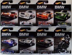 2016-Hot-Wheels-1-64-BMW-Complete-Set-of-8-Pcs