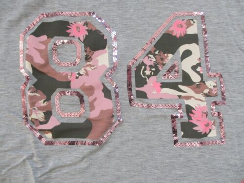 BLUE EFFECT Girls Boxy T-Shirt 1181-5130 camouflage Pailletten NEU