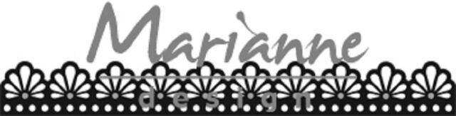 Marianne Design Craftables Die Cutting /& Embossing Stencil Twine Border CR1415