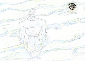 Warner Brothers Animated Series Original Production Drawing-Aquaman-A Fish Story