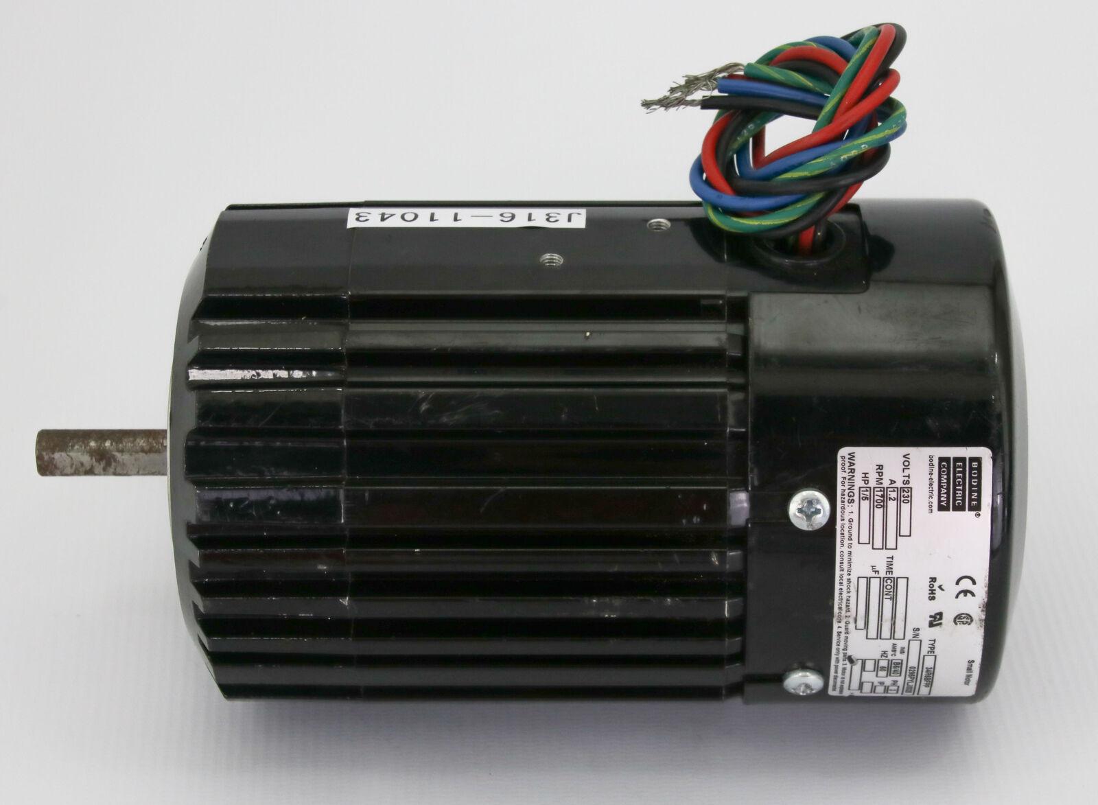 Bodine Electric Motor 1 5 Hp 230v 3 Phase 1700 Rpm 34r6bfpp Ebay Dc Wiring Diagram