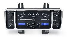 Dakota Digital 40-47 Ford Pickup Analog Dash Gauge Black Alloy Blue VHX-40F-K-B