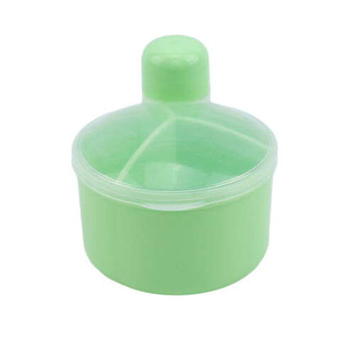 Baby 3 Grid Milk Powder Separated Container Mini Formula Portable Feeding Box N7
