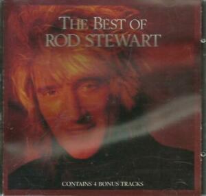 二手 早期銀圈版 CD冇花 THE BEST OF ROD STEWART I WAS ONLY JOKING SAILING YOU 'RE IN MY二手